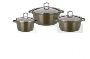 Set nádobí Gourmet Premium Bronze
